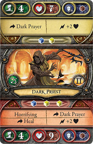 Dark Priest - Act II - Front - Guardians of Deephall