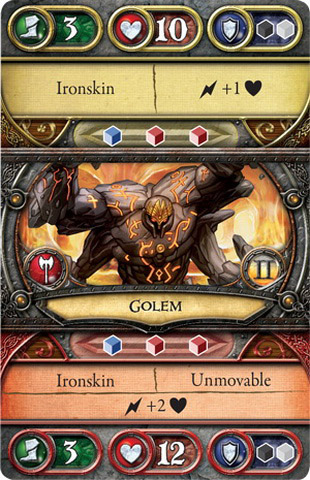 Golem - Act II - Front - Crusade of the Forgotten