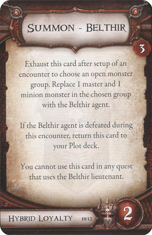 Summon - Belthir