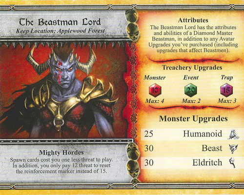 The Beastman Lord - Descent: Road to Lengend