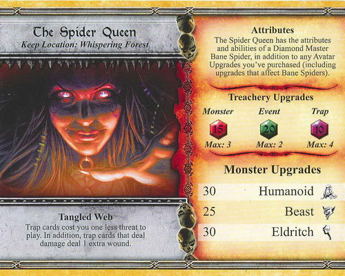 The Spider Queen - Descent: Road to Lengend